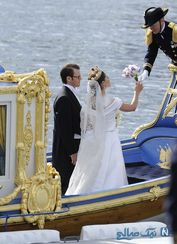 مراسم عروسی دختر پادشاه سوئد