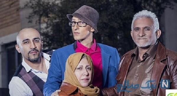 عکس خانوادگی مرتضی پاشایی