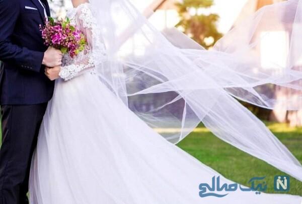 آماده کردن عروس با رعایت پروتکل بهداشتی برای جشن ازدواج در شرایط کرونایی