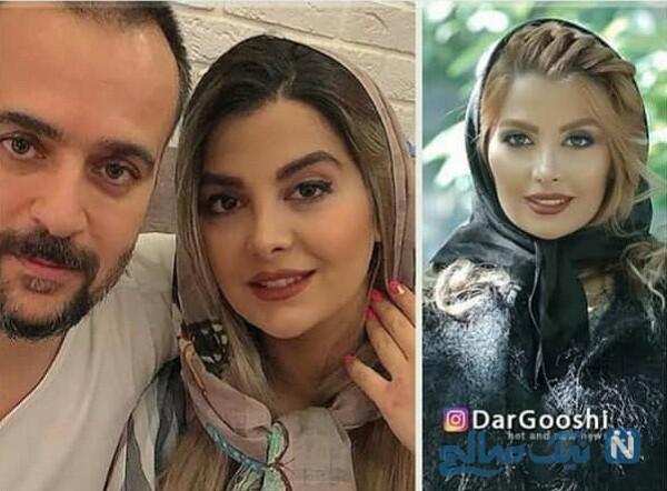 تغییر چهره همسر احمد مهران فر