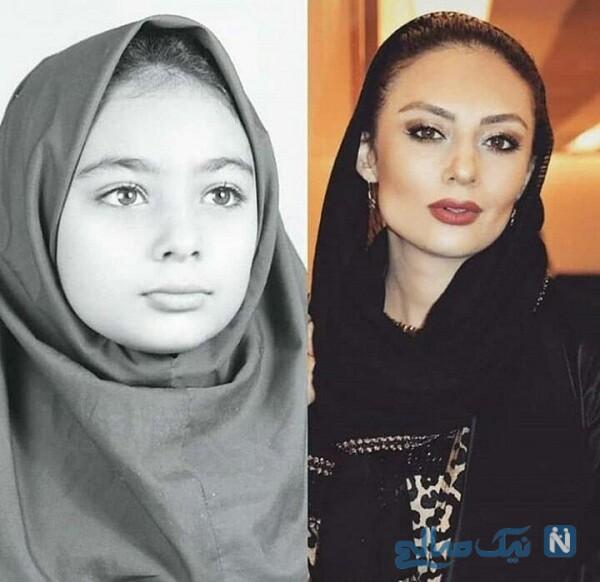 عکس نوجوانی یکتا ناصر