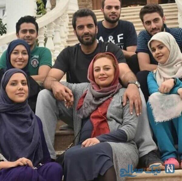 بارداری یکتا ناصر در پشت صحنه سریال عاشقانه