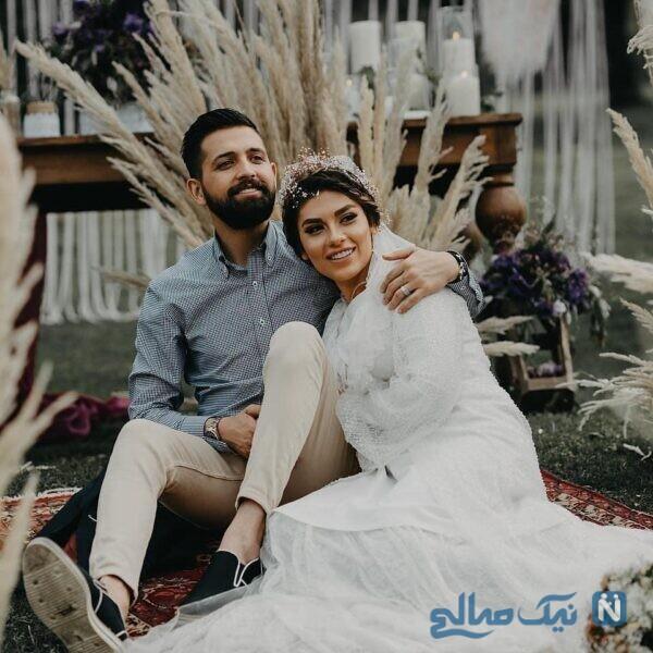 عکس عروسی بازیگر معروف