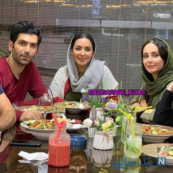 دورهمی بازیگران ایرانی