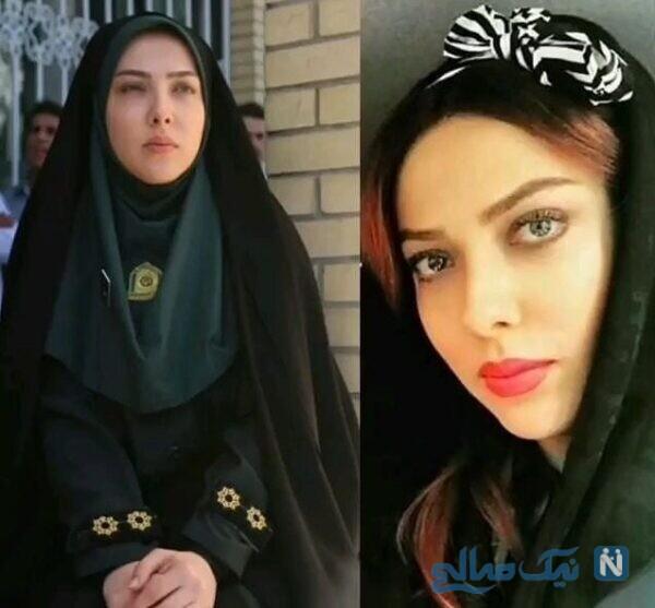 لیلا اوتادی و بازیگران با حجاب