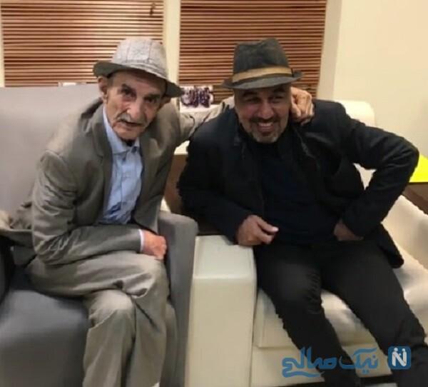 رضا عطاران و بازیگر درگذشته