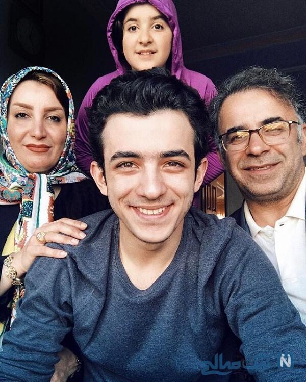 خواهر، مادر و پدر علی شادمان