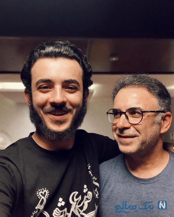 علی شادمان و پدرش
