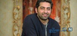 مراسم عقد علی سخنگو و همسرش سارا نجفی بازیگران سریال دل