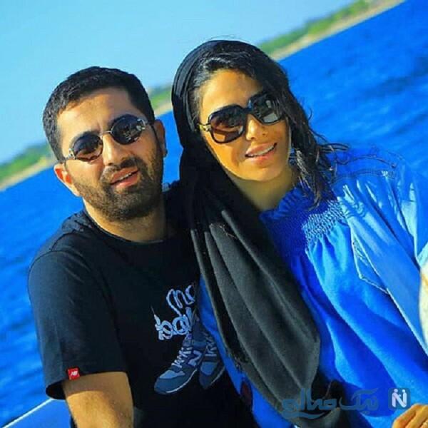 علی سخنگو و سارا نجفی همسرش