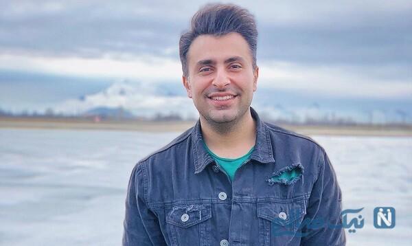 علیرضا طلیسچی خواننده در کنار مادر و برادرش