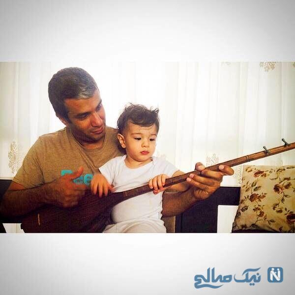 نوازندگی داور عصر جدید و پسرش