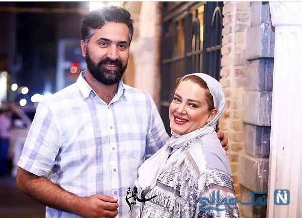 خانم بازیگر و همسرش