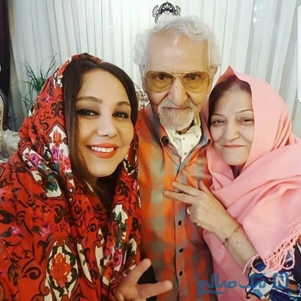 بازیگر معروف و پدر و مادرش