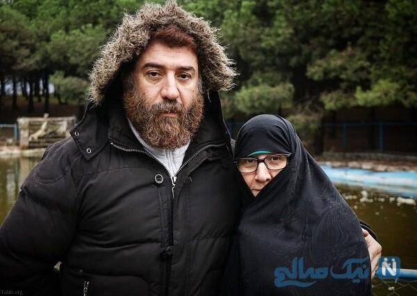آقای بازیگر و مادرش