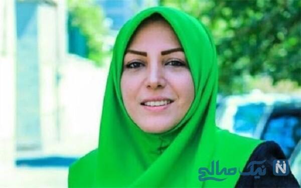 تبریک تولد المیرا شریفی مقدم برای ۴۵ سالگی همسرش