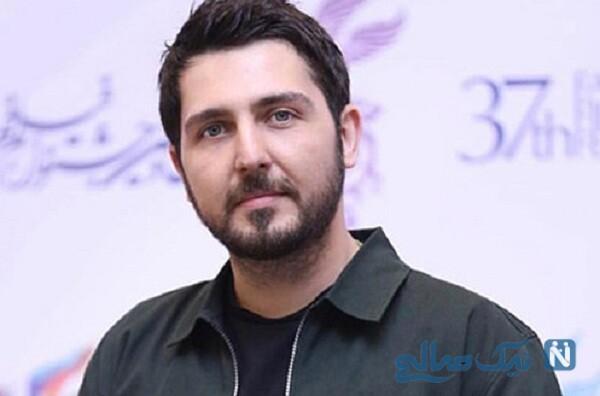جشن تولد محمدرضا غفاری بازیگر سریال دلدار با کیک ساده اش