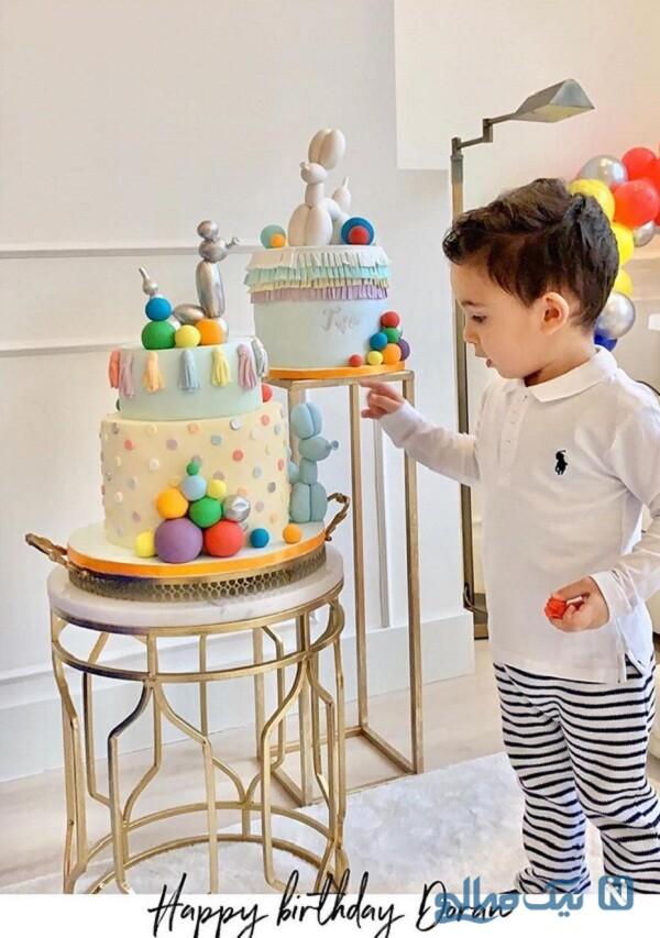 جشن تولد پسر رضا قوچان نژاد