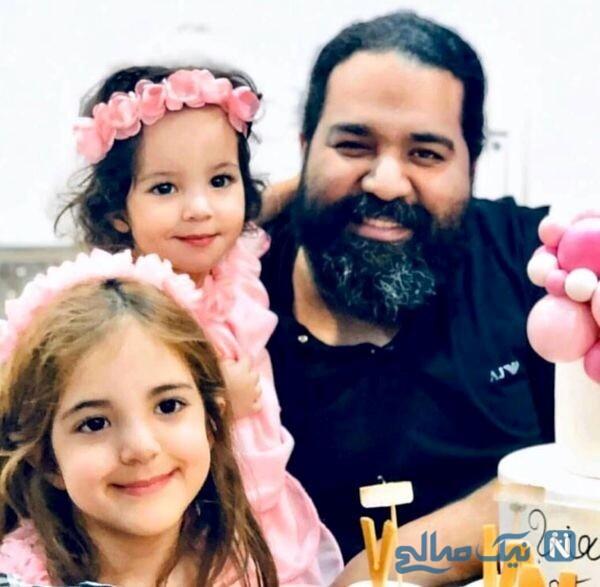 جشن تولد دختر رضا صادقی