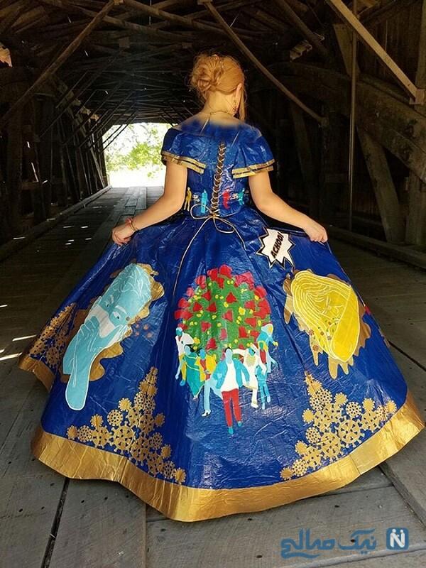 زیباترین لباس