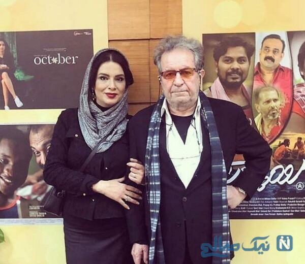 داریوش مهرجویی و همسرش وحیده محمدی فر