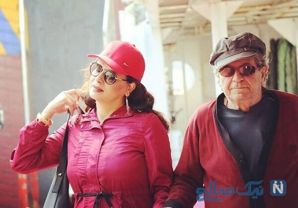 ست لباس وحیده محمدی فر و همسرش