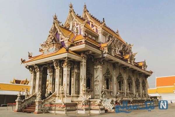 عجیب ترین معبد در تایلند معروف به معبد دیوید بکهام