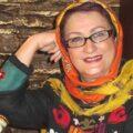 مریم امیر جلالی با تیپ کاملا مشکی در عروسی الهام حمیدی