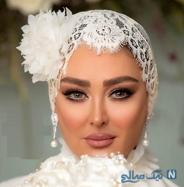 عروسی الهام حمیدی بازیگر