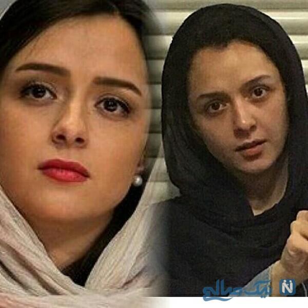 ترانه علیدوستی و چهره بدون آرایش بازیگران ایرانی