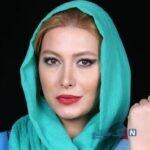 استایل شیک و آبی فریبا نادری بازیگر ستایش