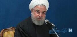 استفاده کردن حسن روحانی رئیس جمهور از ماسک