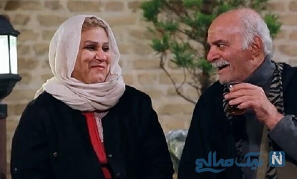 سیروس گرجستانی و همسرش