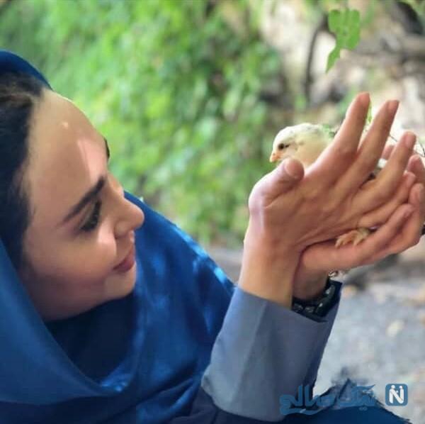 عکس جدید خانم بازیگر