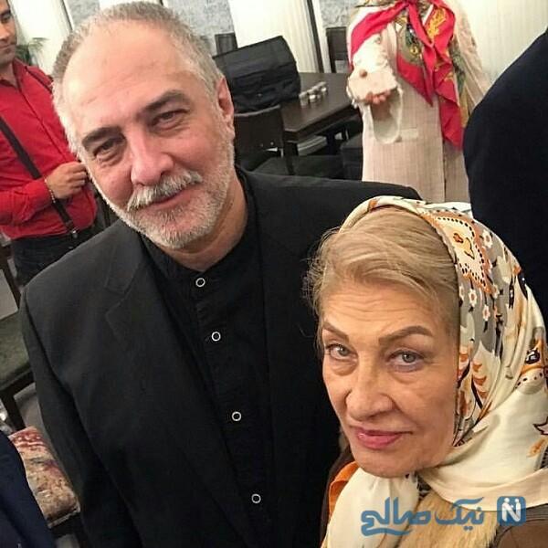 عکس جدید بازیگر معروف و مادرش