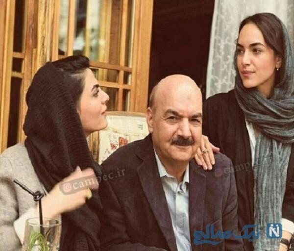 دختران مجری معروف