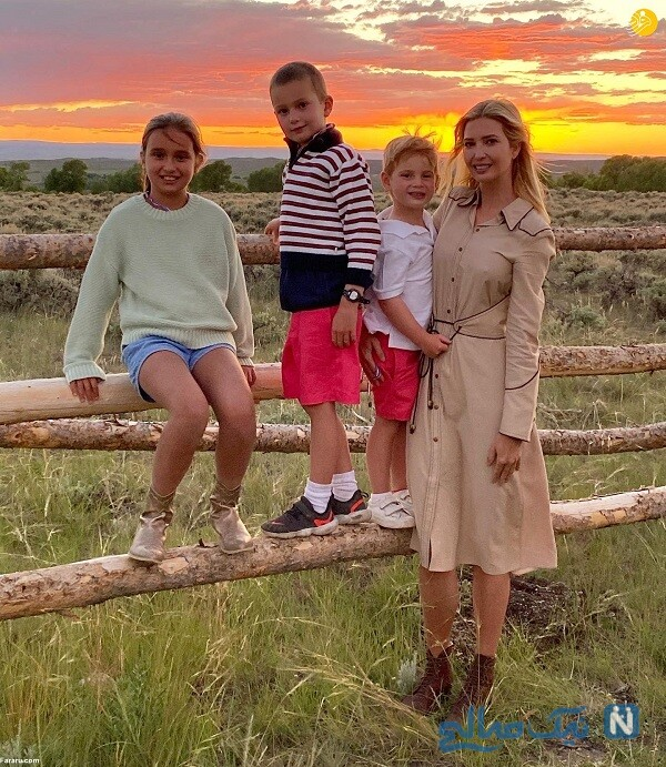 تفریح ایوانکا با خانواده اش