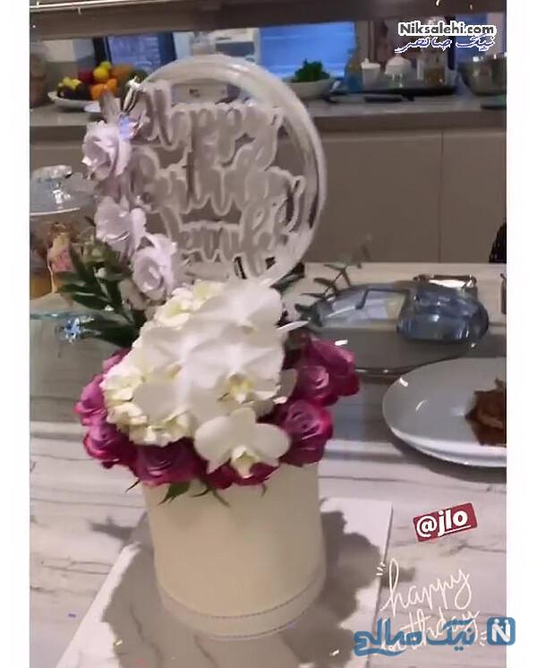 عکس جشن تولد جنیفر لوپز