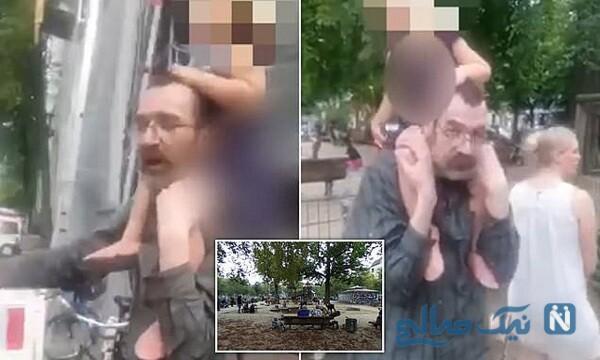 ربودن کودک در پارک بازی