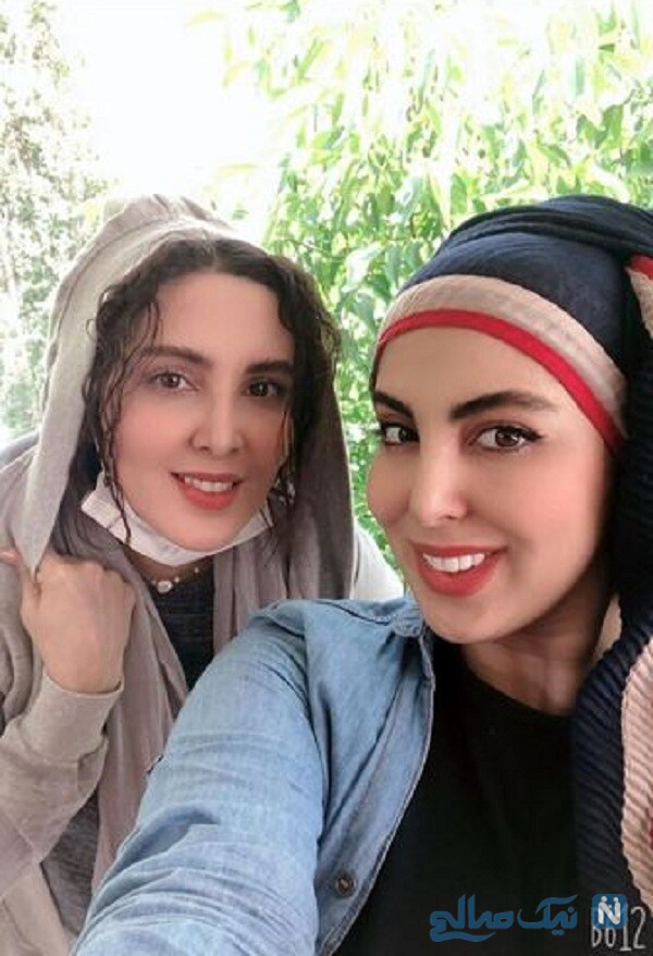 شباهت خانم بازیگر و خواهرش