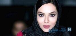 لیلا اوتادی در پشت صحنه سریال عالیجناب در کاخ سعدآباد