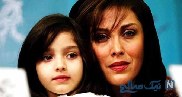 خانم بازیگر و دخترش