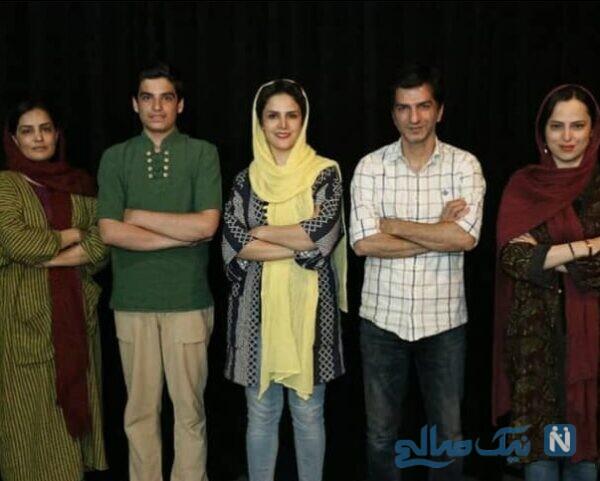 مانی رحمانی و هنرمندان ایرانی