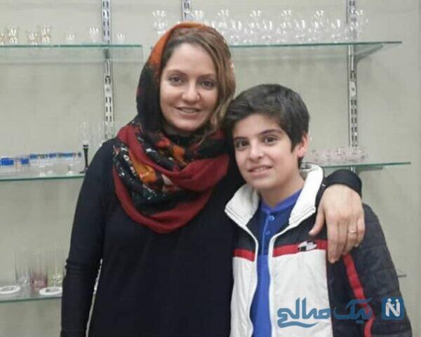 تصویری از مانی رحمانی و مهناز افشار