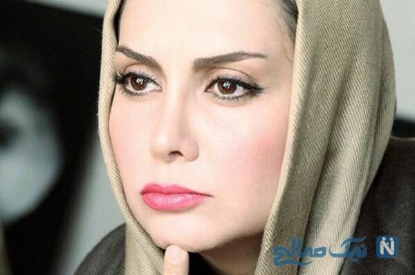 مریم خدارحمی بازیگر دخترم نرگس , مادرش و محمود پاک نیت