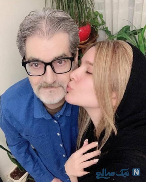 خانم بازیگر و پدرش
