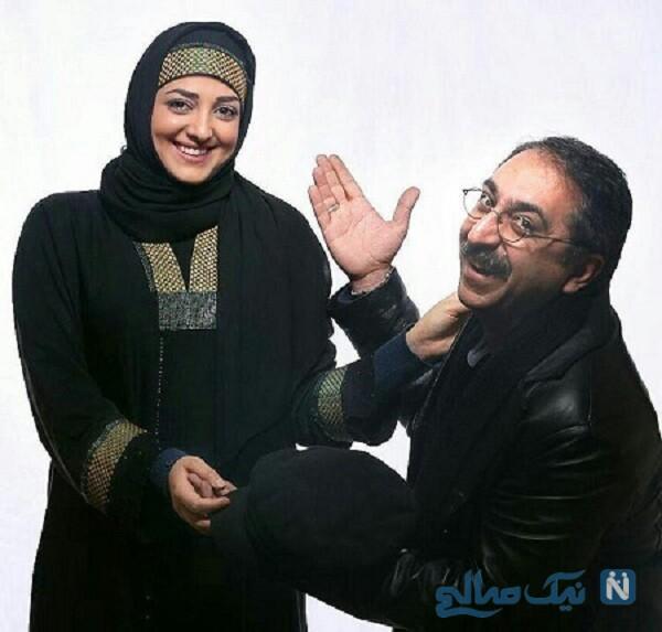 شهرام شکیبا و همسرش