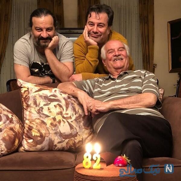 جشن تولد پدر مهراب قاسم خانی