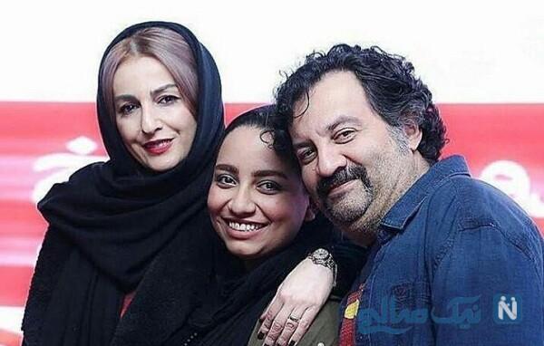 همسر و دختر نویسنده ایرانی