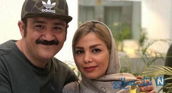 عکس جدید مهران غفوریان و همسرش